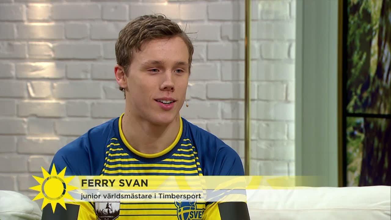 Gunde Svans Son Gor Succe I Otippade Sporten Ferry Blev Juniorvarldsmastare