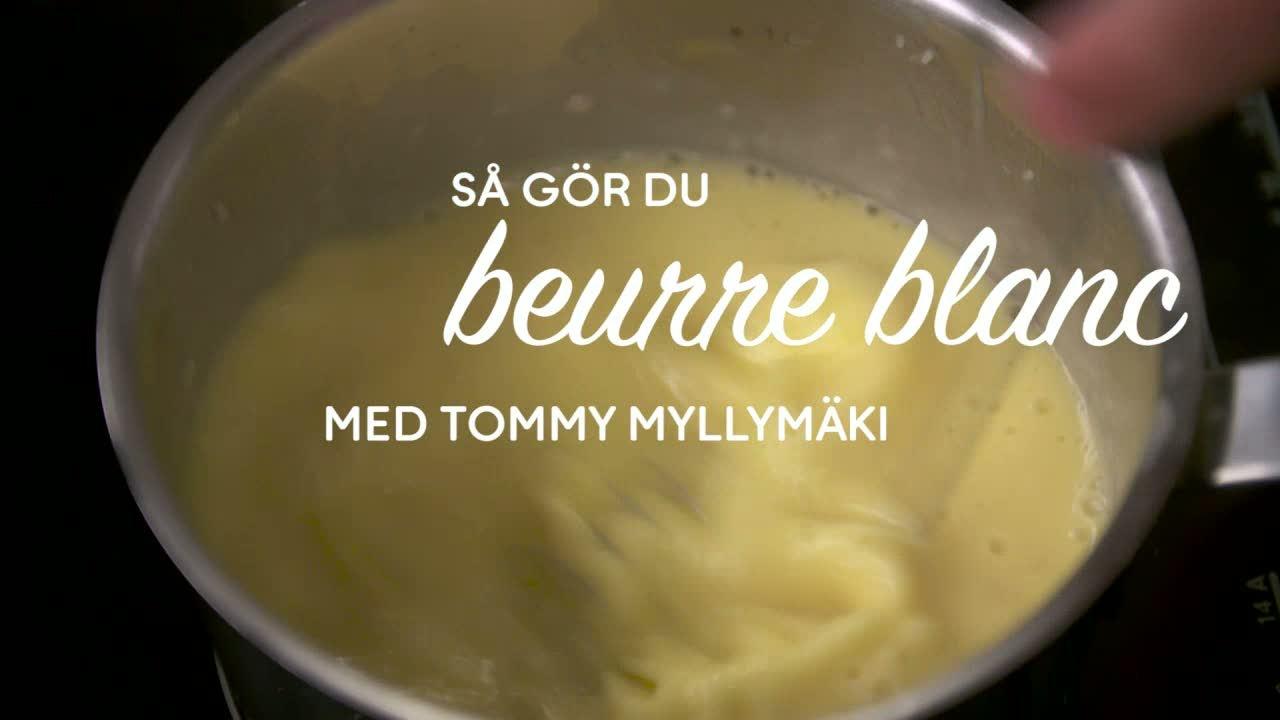 Se & gör beurre blanc