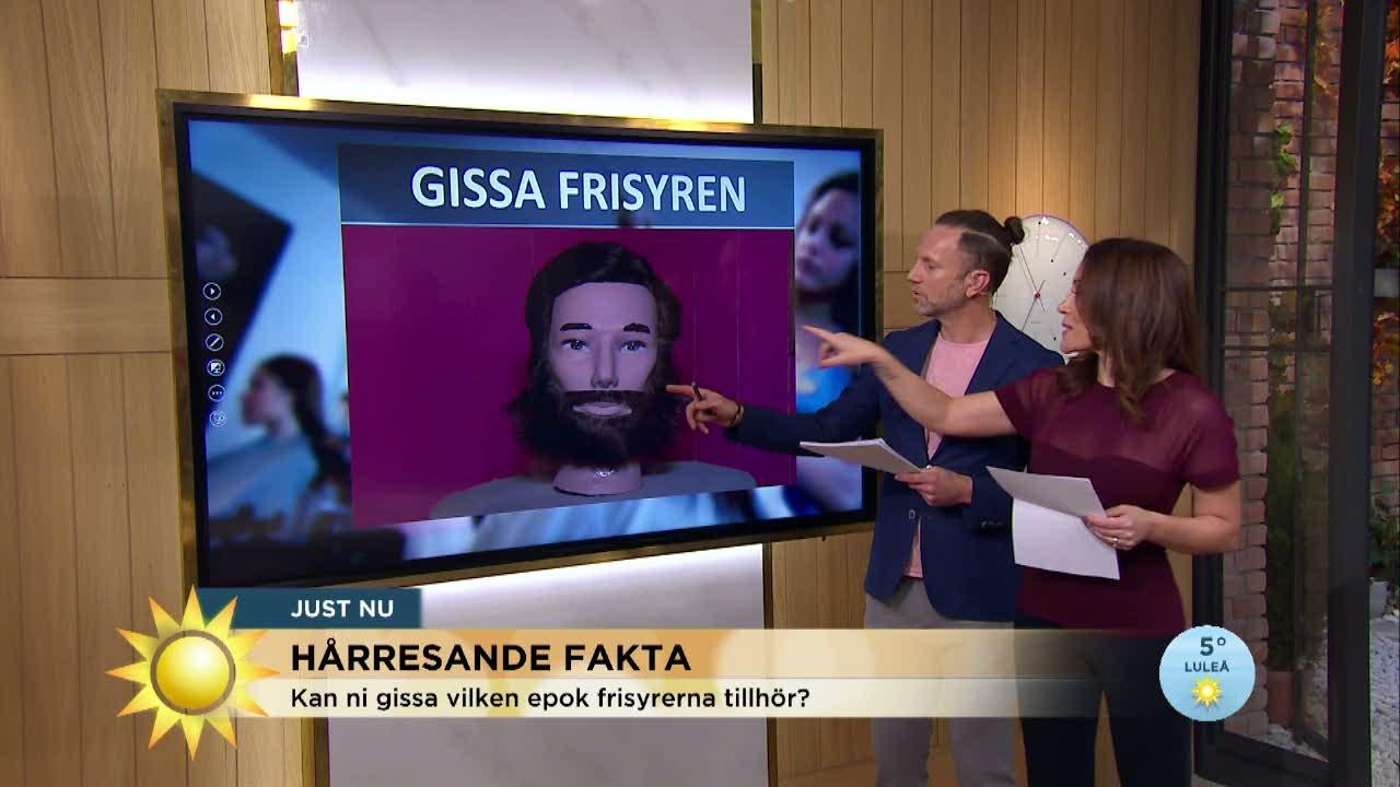 53331d5d415 Gissa frisyren - Nyhetsmorgon - tv4.se