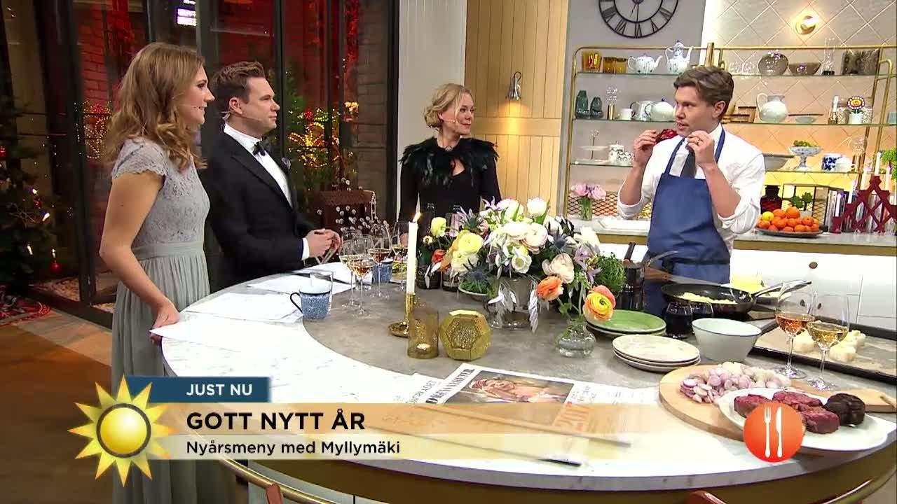 Tommy Myllymäkis vinnarmeny för nyår - 3 rätter