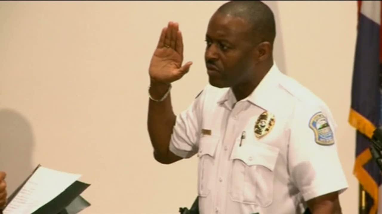 Svart polischef utsedd i ferguson