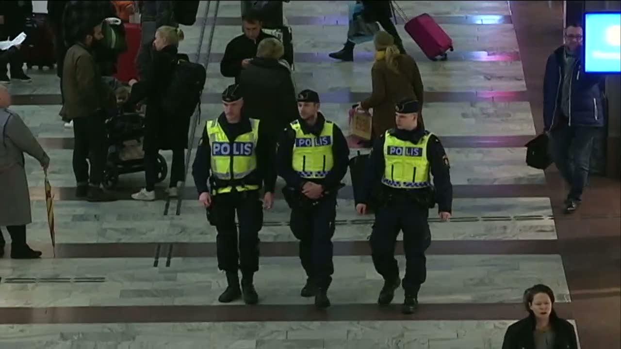 Polisen utreder den fallande balken