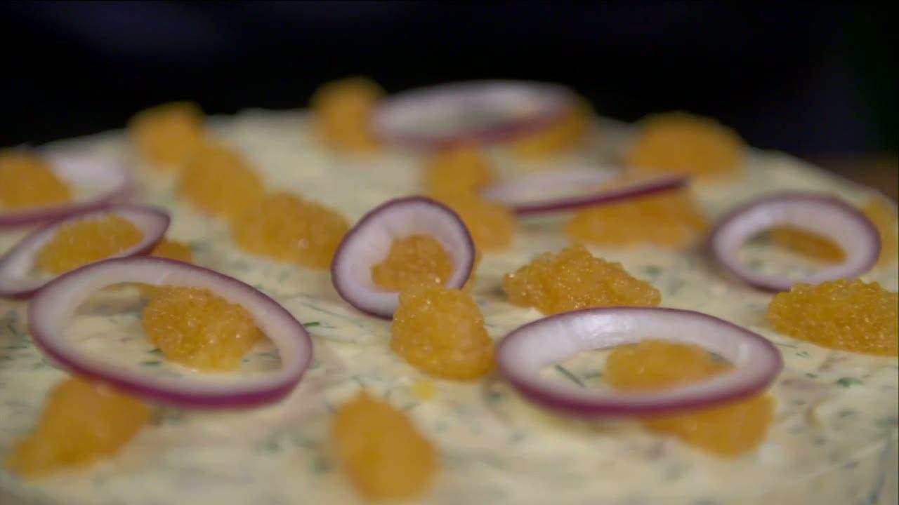 Kökets middag: Sommartårta med matjesill