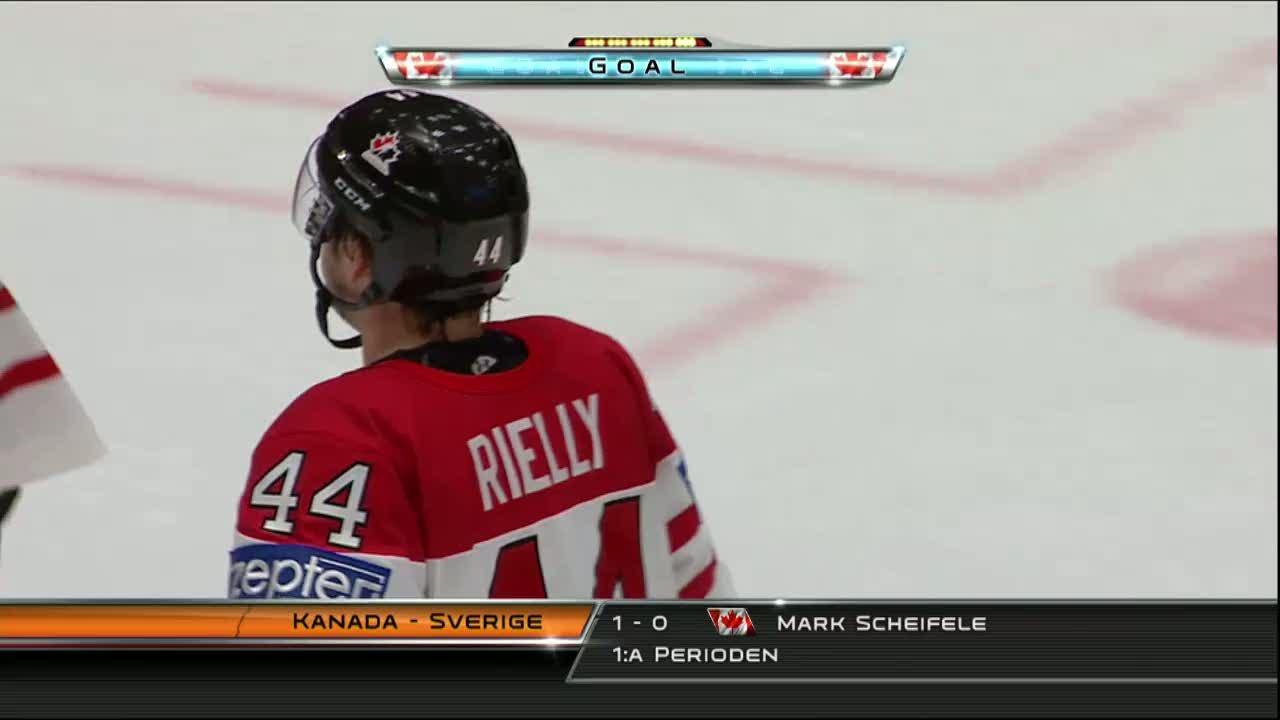 Hockeyspelare springer tjejmilen