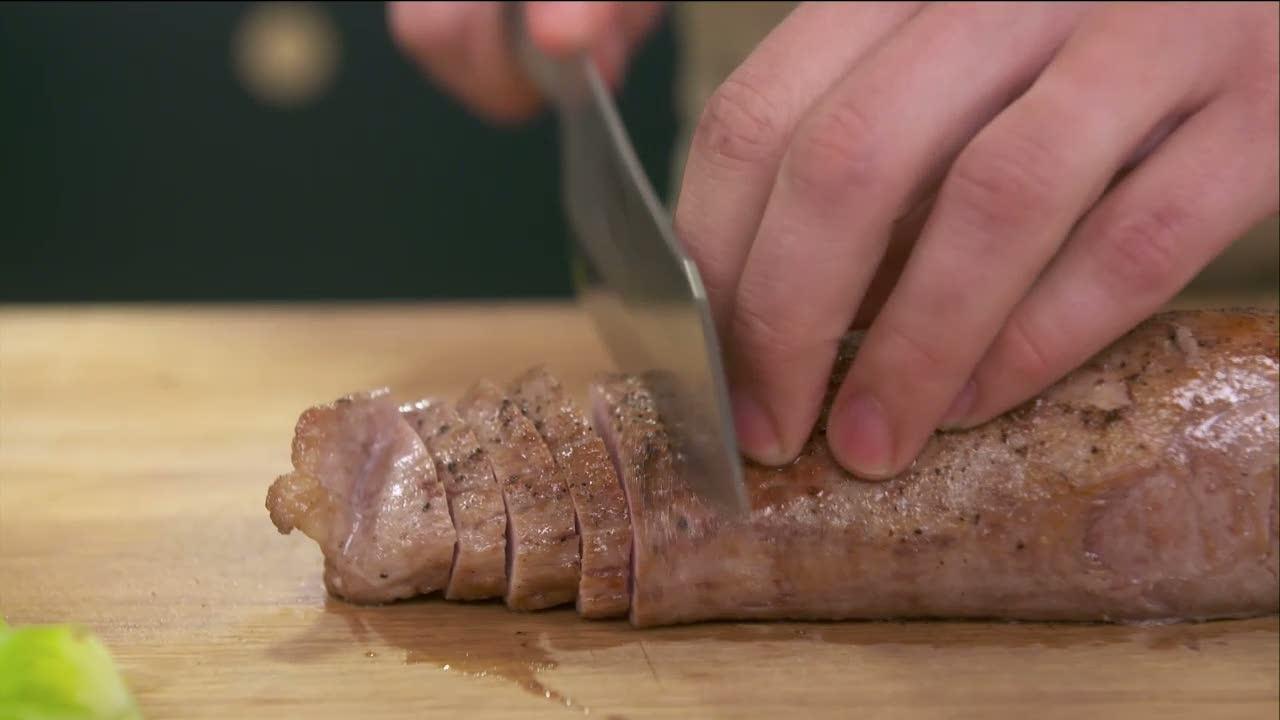 Kökets middag: Helstekt fläskfilé