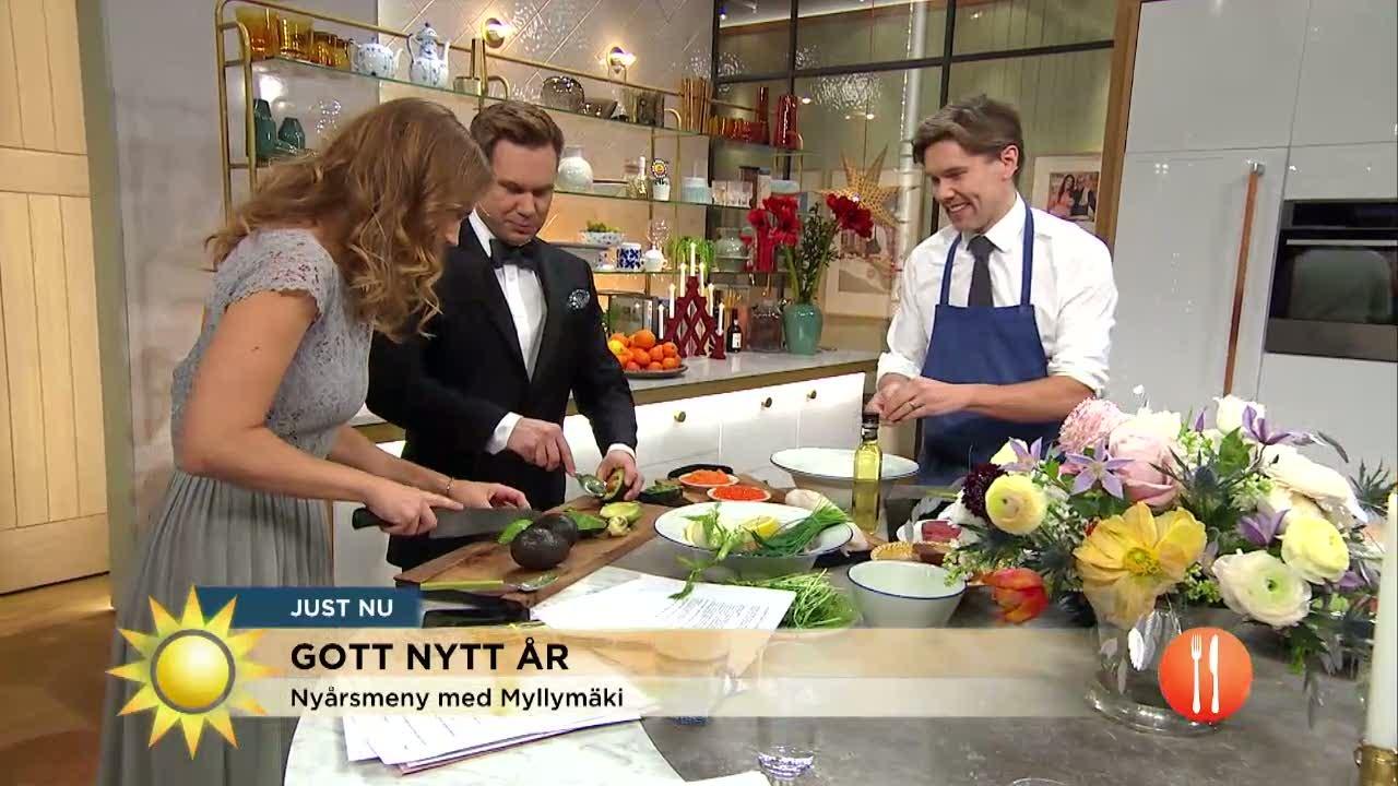 Tommy Myllymäkis lyxiga festmeny i sista minuten