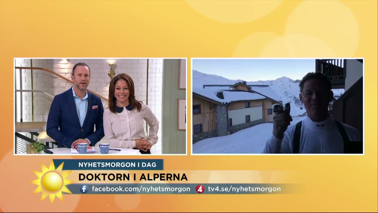Upp till bevis: doktor Mikael åker skidor efter