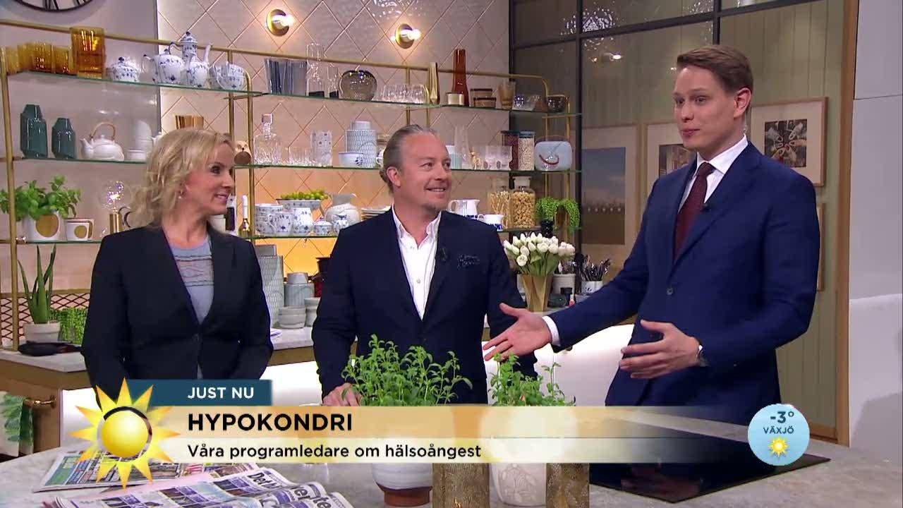Programledaren Max Kanns Som En Hypokondriker Tv4 Se