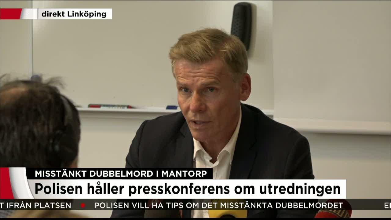 Polisen i norge haller presskonferens