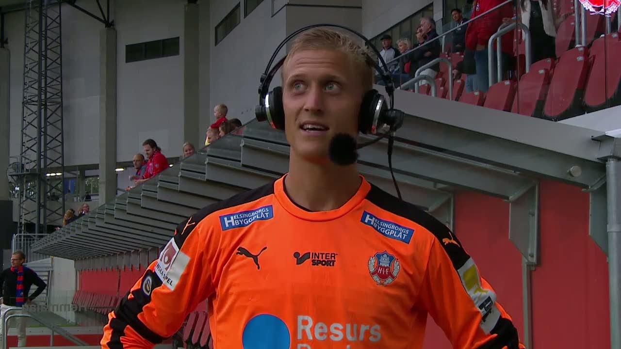 Helsingborg vann efter jattetavla