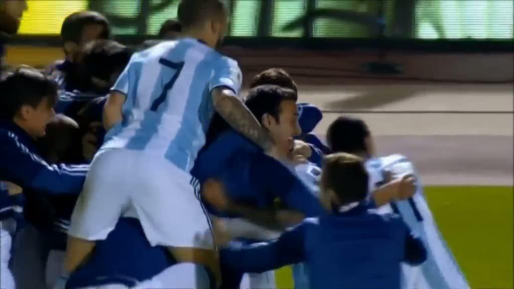 Messimal sakrade argentinas seger