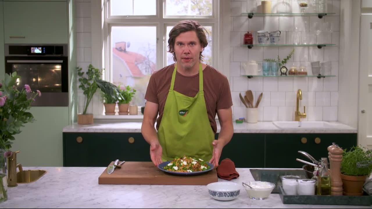 Kökets middag: Kryddig kyckling med couscoussallad