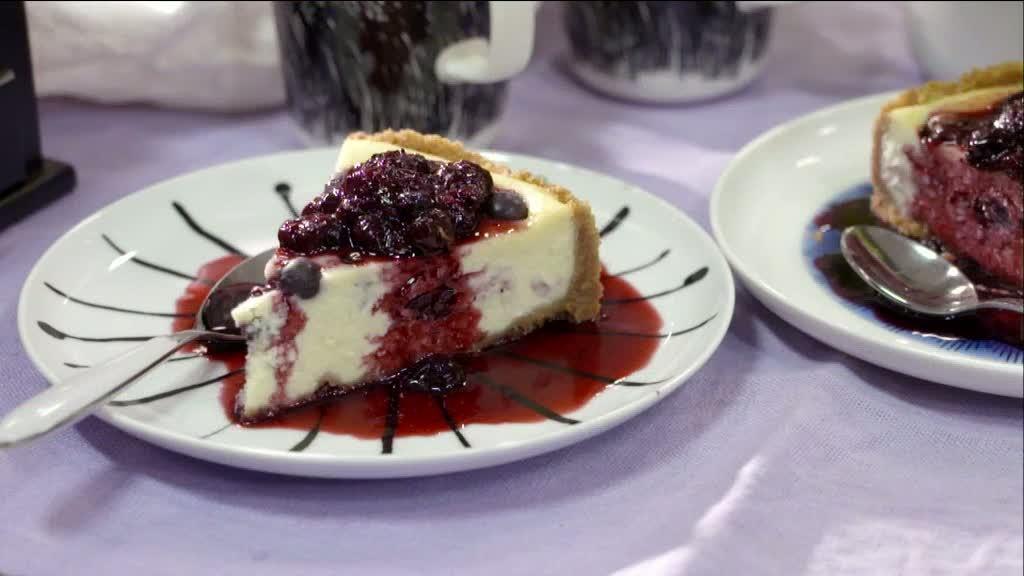 Mitt kök: Roy Fares gör cheesecake