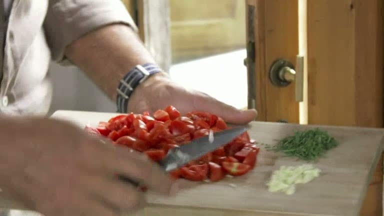Ernst Kirchsteiger lagar bönor gjorda som småfåglar