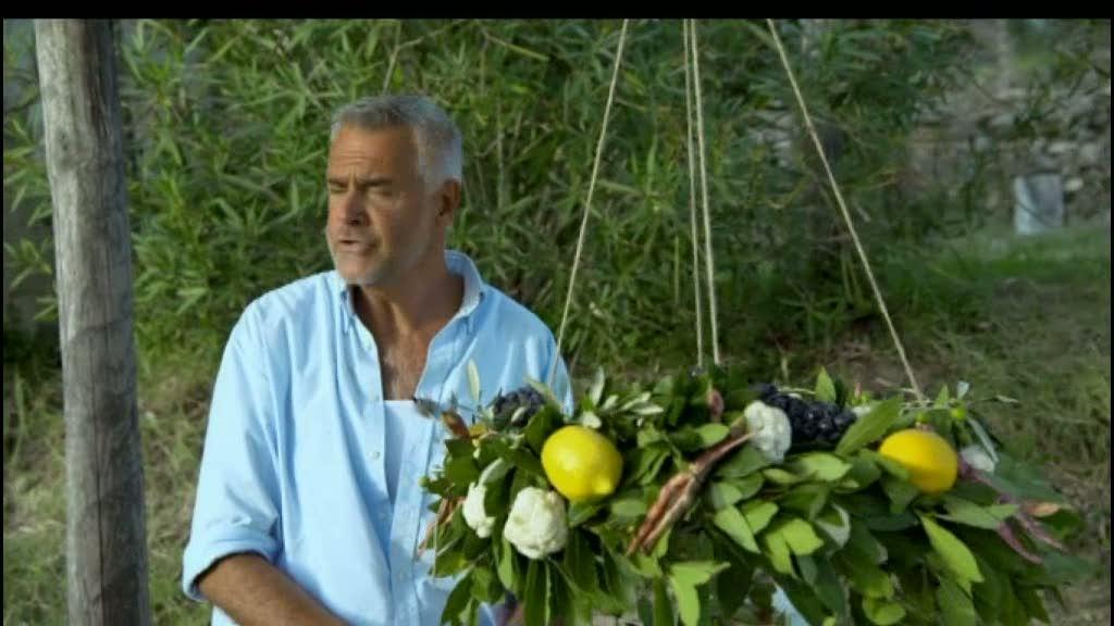 Ernst Kirchsteiger gör en toskansk festkrans