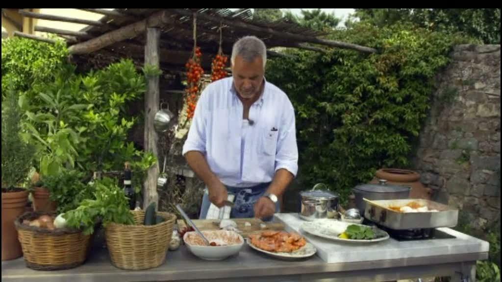 Ernst Kirchsteiger lagar toskansk fisk- och skaldjursgryta