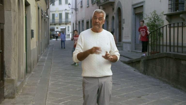 Det blir fest hemma hos Ernst i Toscana