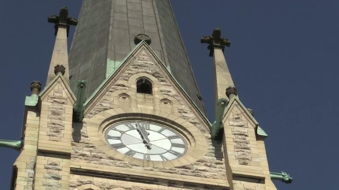Nytt klockspel i oscarskyrkan