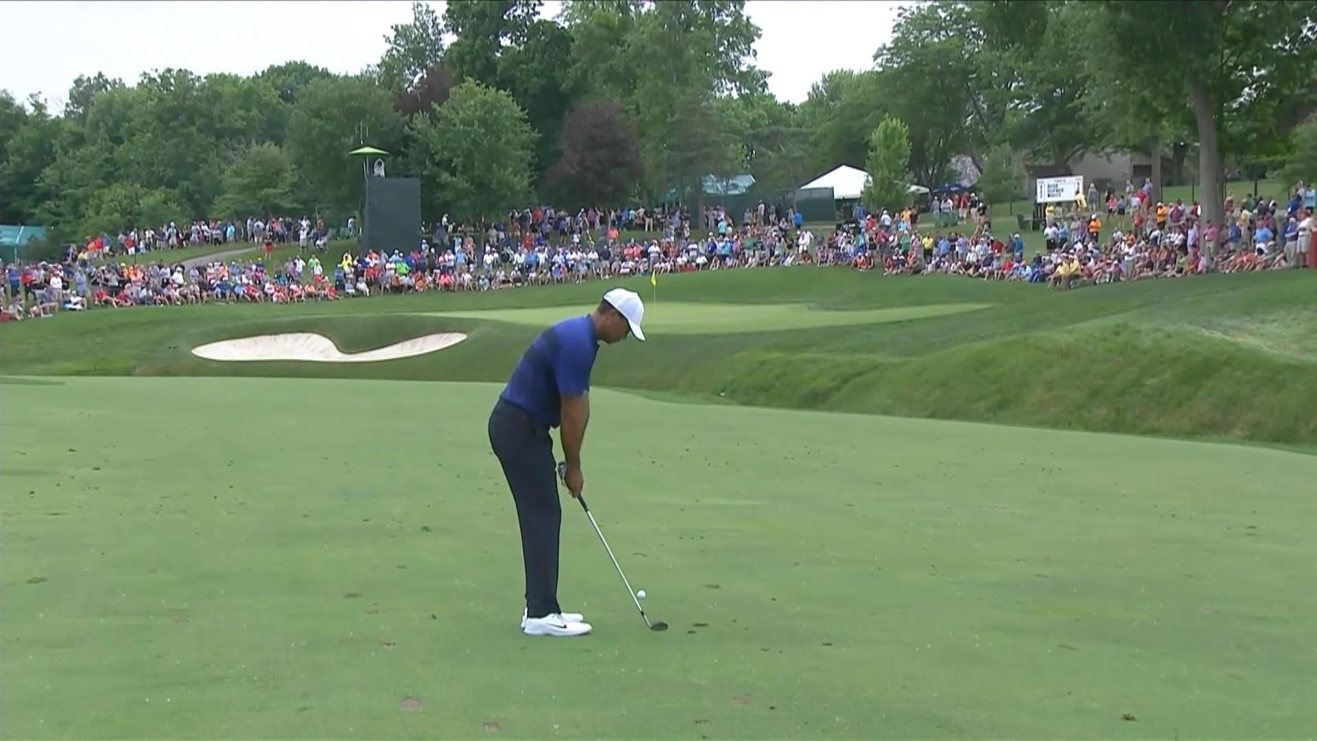 Golf tiger woods visade klassen