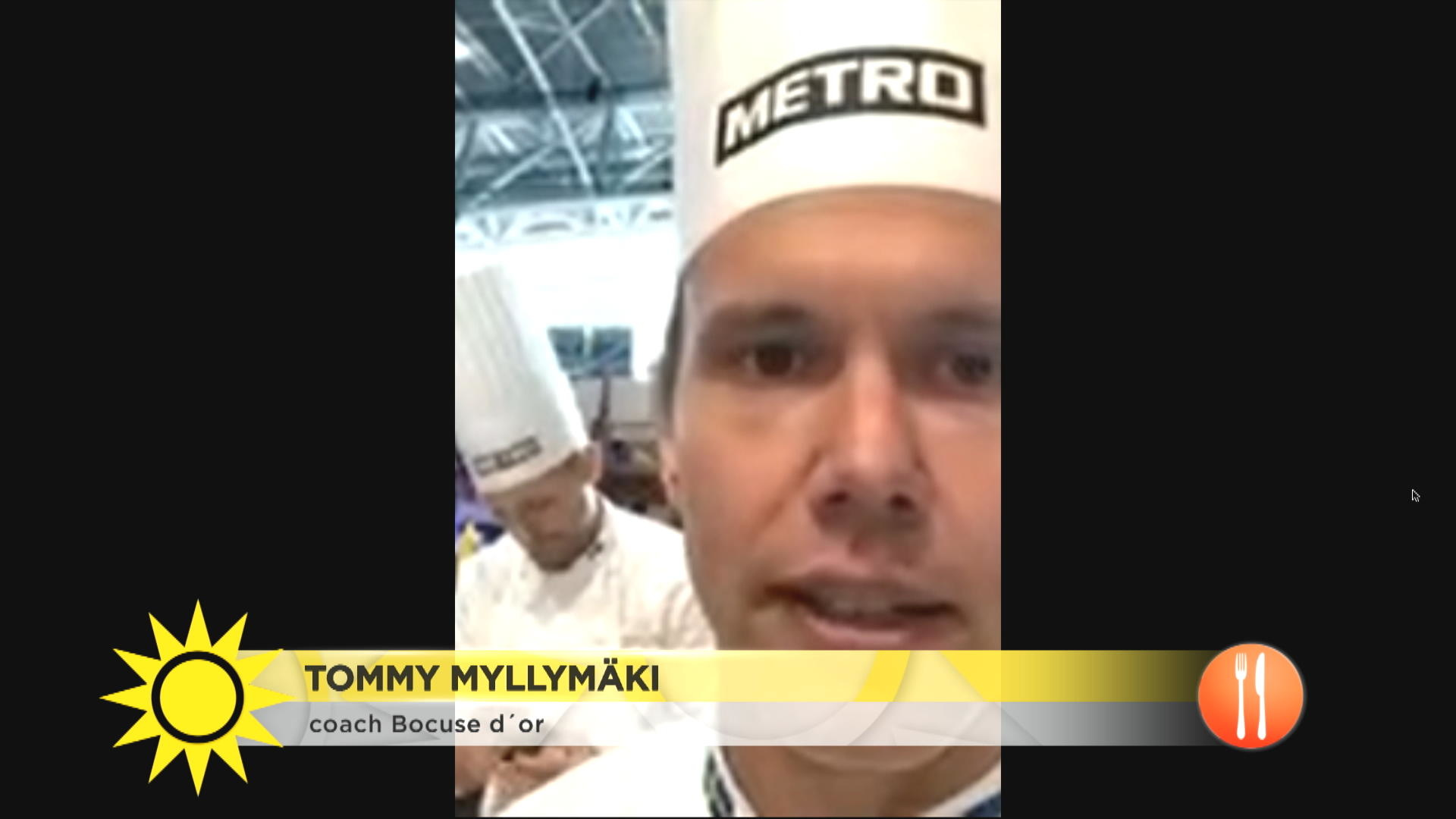 """Tommy Myllymäki coachar i kock-EM: """"Man måste tro på sin rätt stenhårt och köra in i kaklet!"""""""