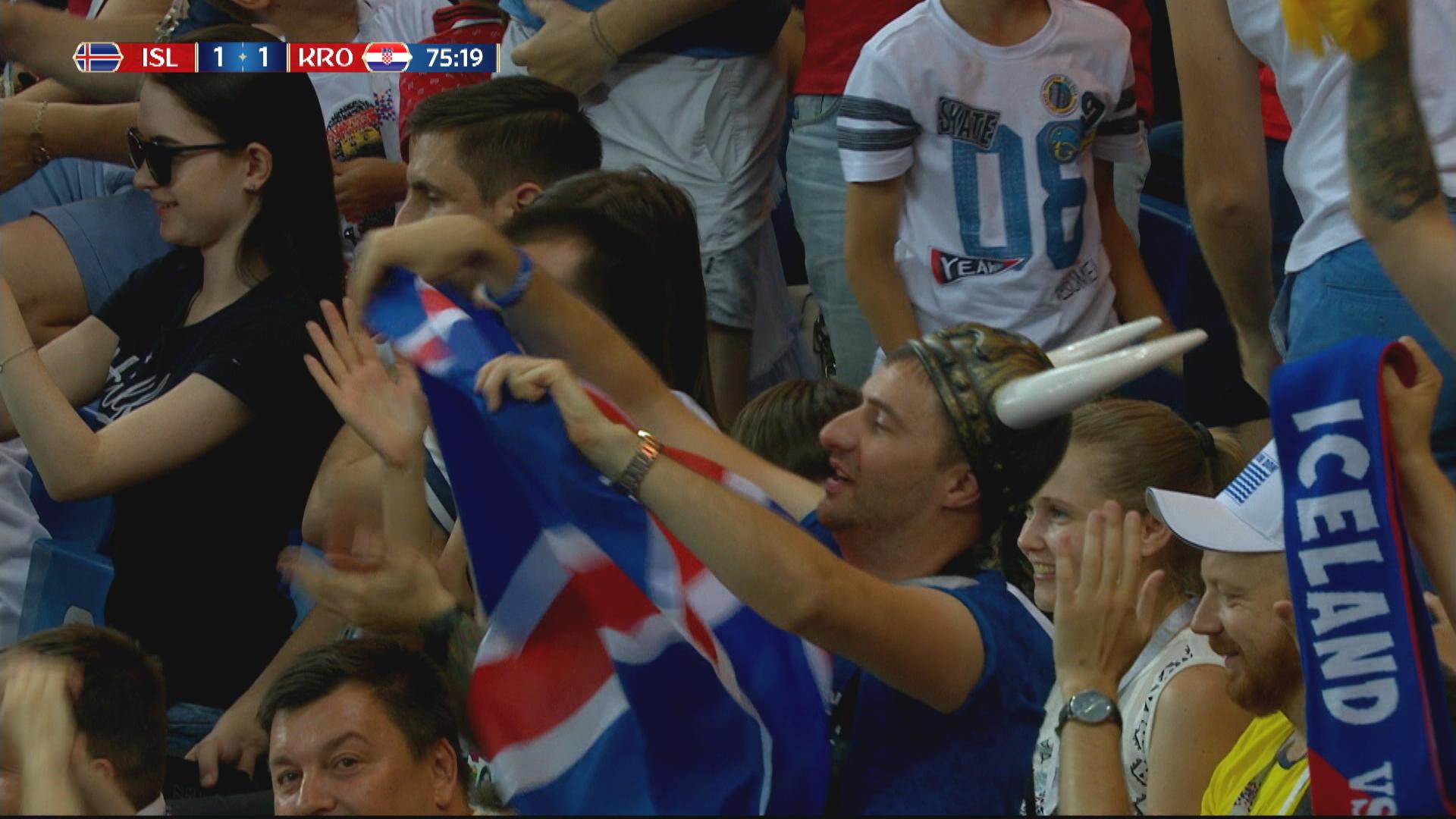 Iceland maste prestera i kvall