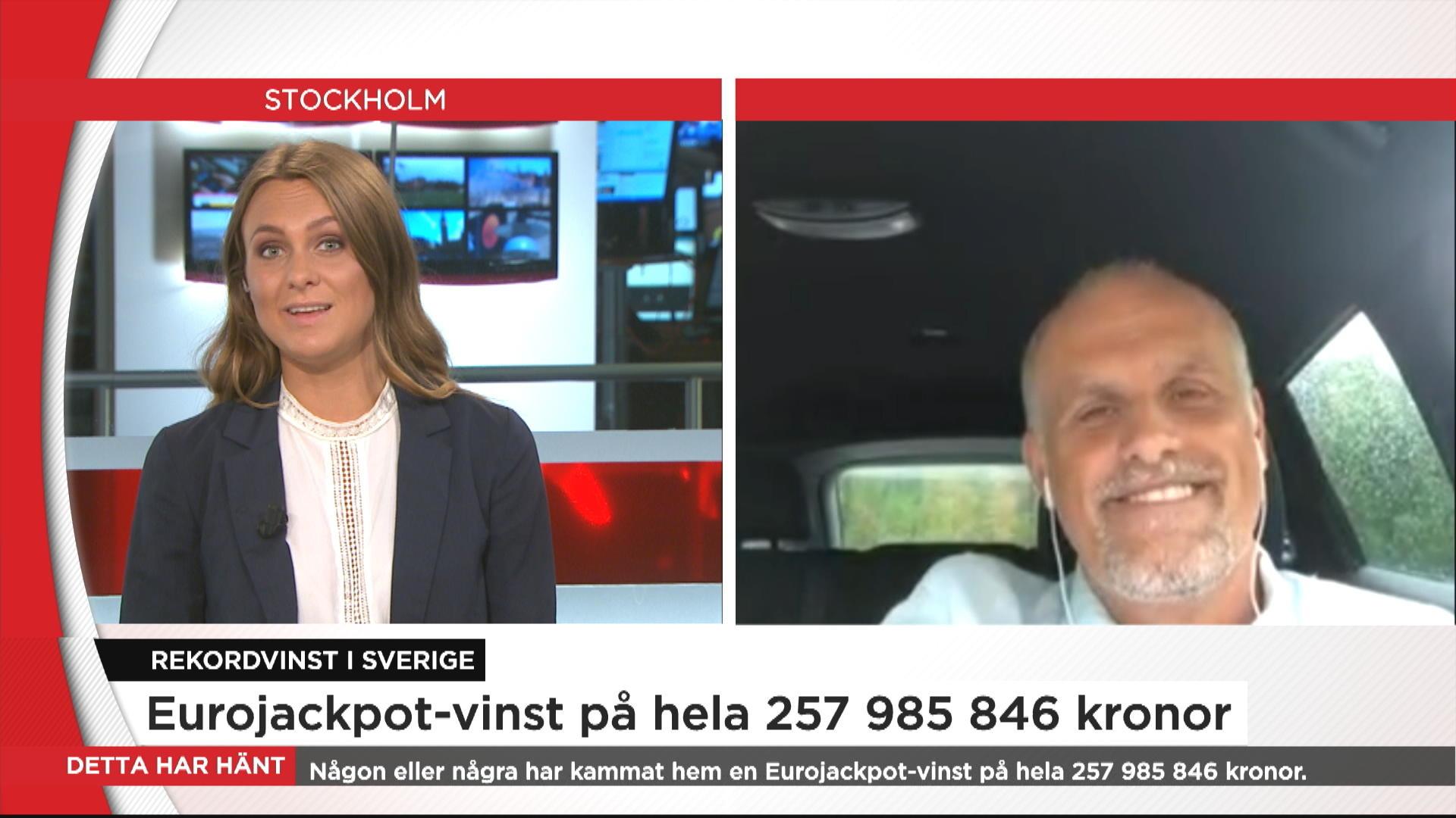 Hogsta svenska spelvinsten