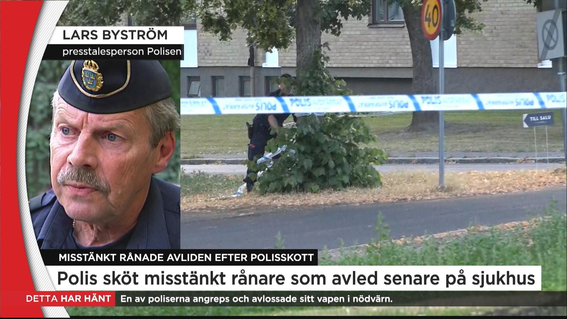 Misstankt samarbetar med polisen
