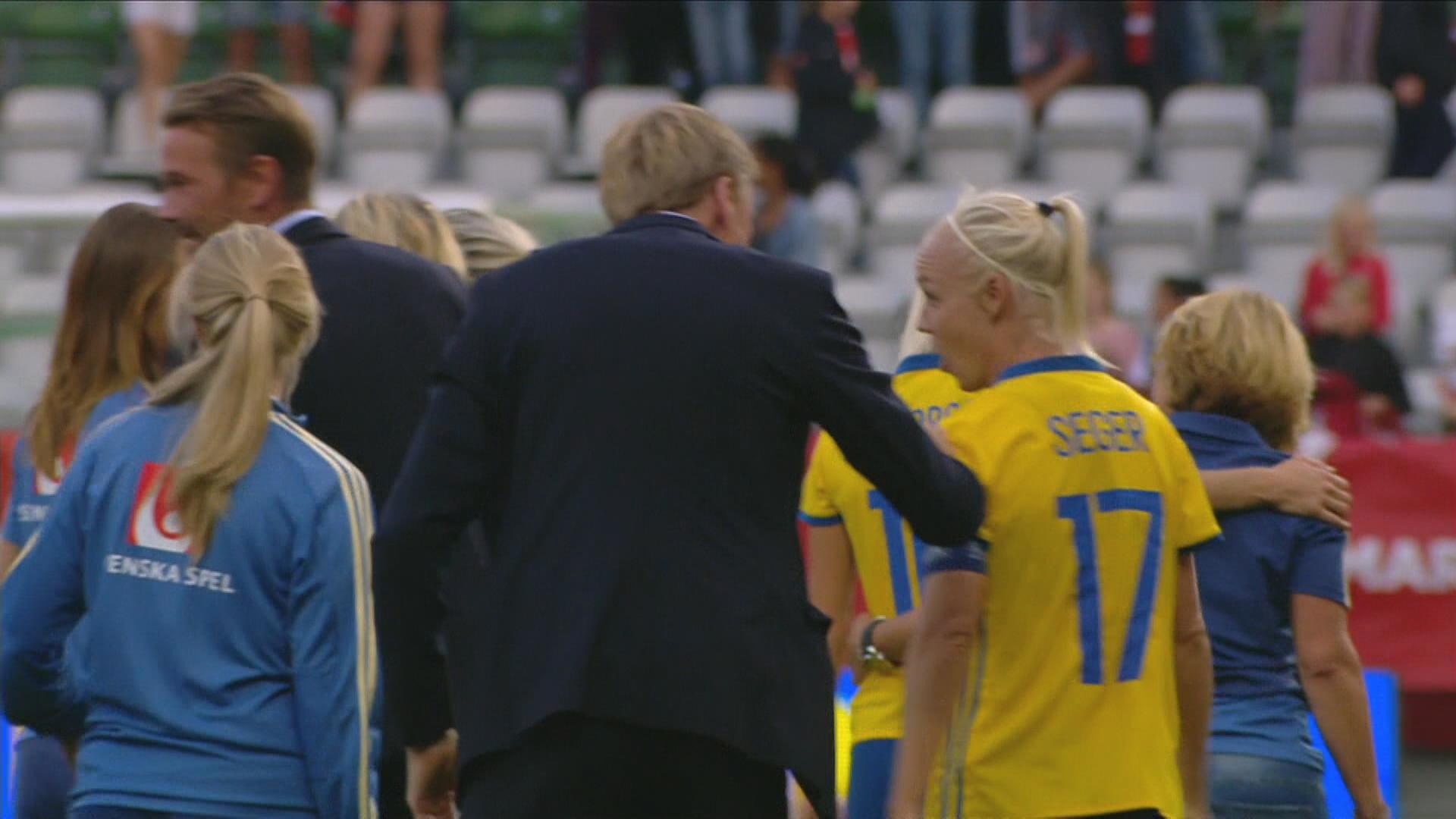 TV  Sverige klarade pressen - Jakobsson sköt Blågult till VM i Frankrike 0892a42f222a0