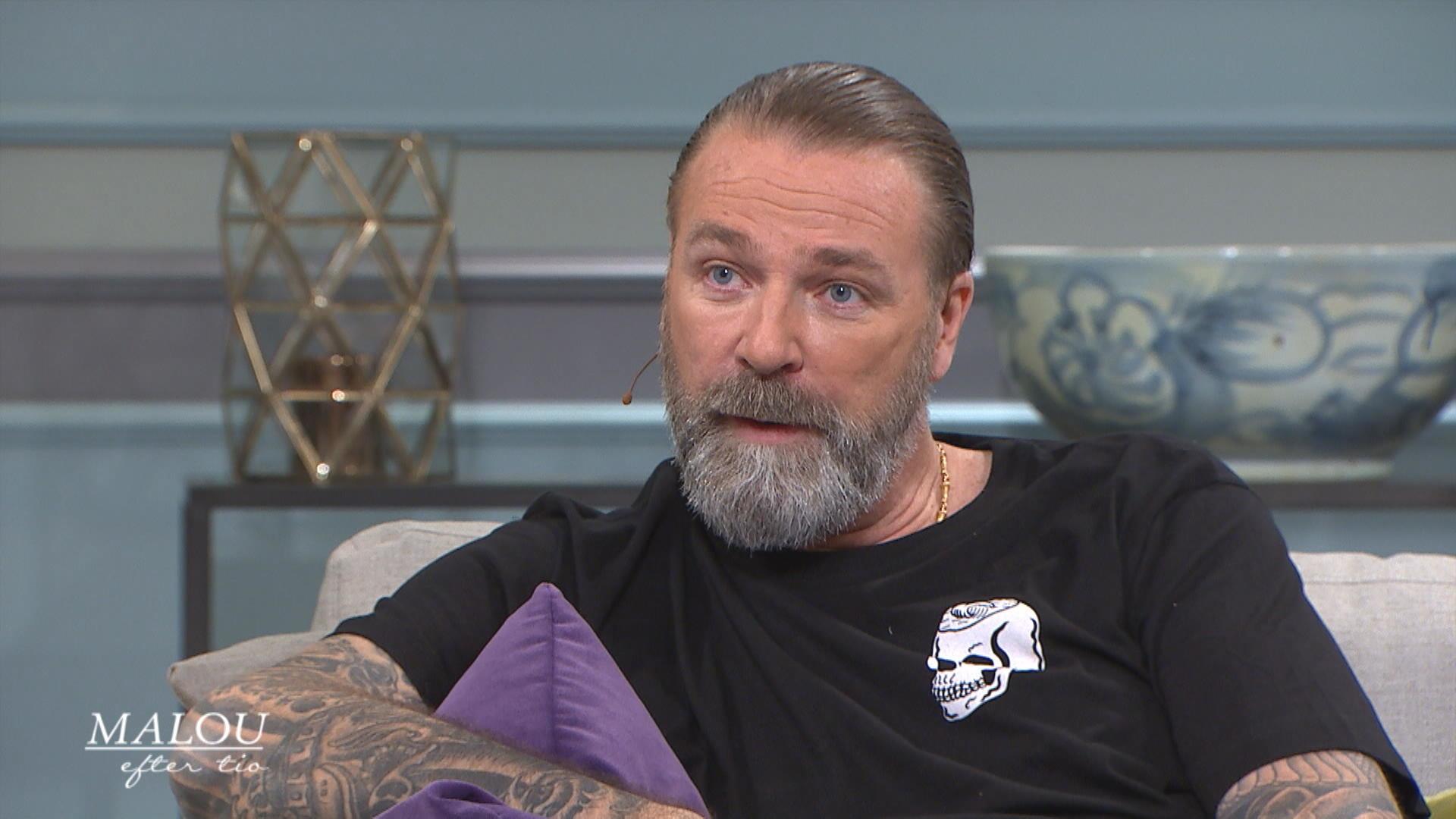 """ecde18ede05 Patrik Sjöberg: """"Jag är mer bekväm att hamna i konflikt än att få beröm"""" -  Malou Efter tio - tv4.se"""