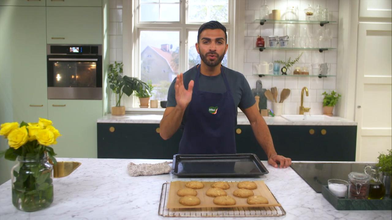 Kökets baktips: Chocolate chip cookies med jordnötter