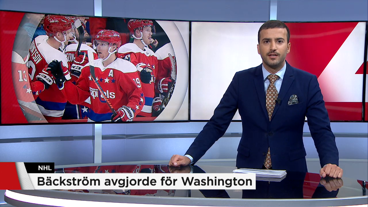 Backstrom avgjorde for washington