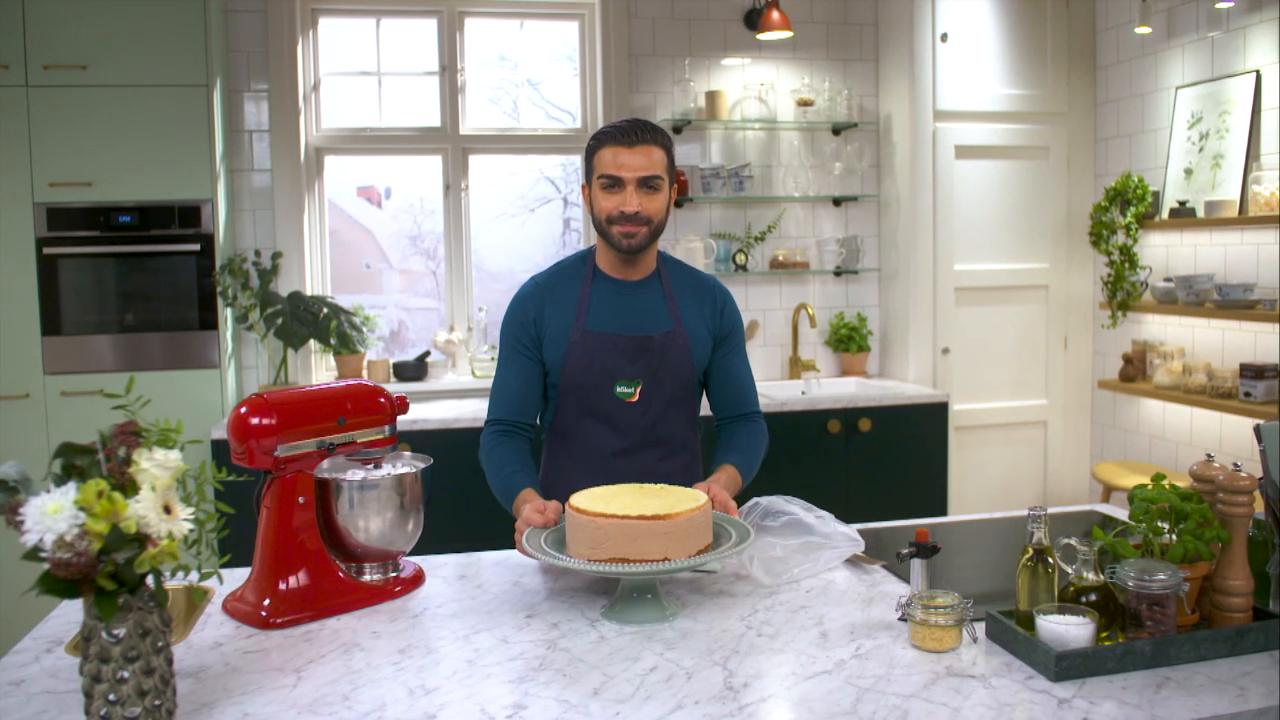 Kökets baktips: Roy Fares vintertårta med apelsin och mjölkchoklad