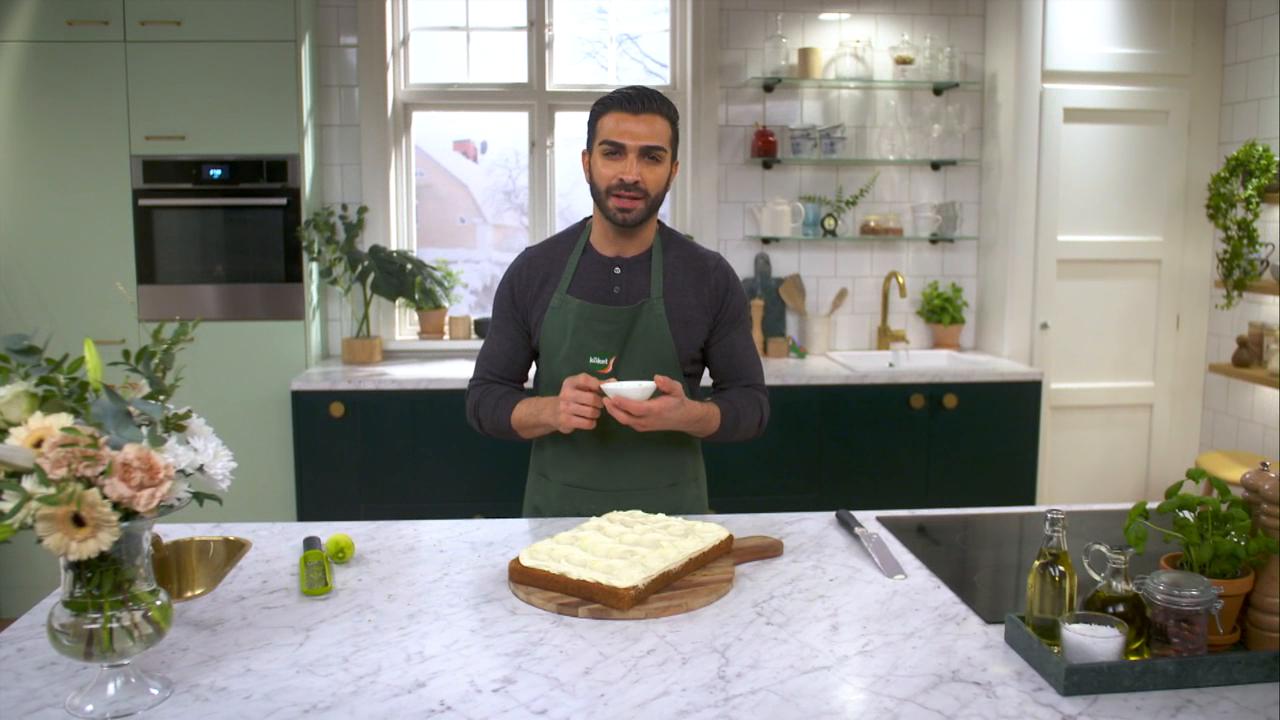 Kökets baktips: Morotskaka, Roy Fares recept