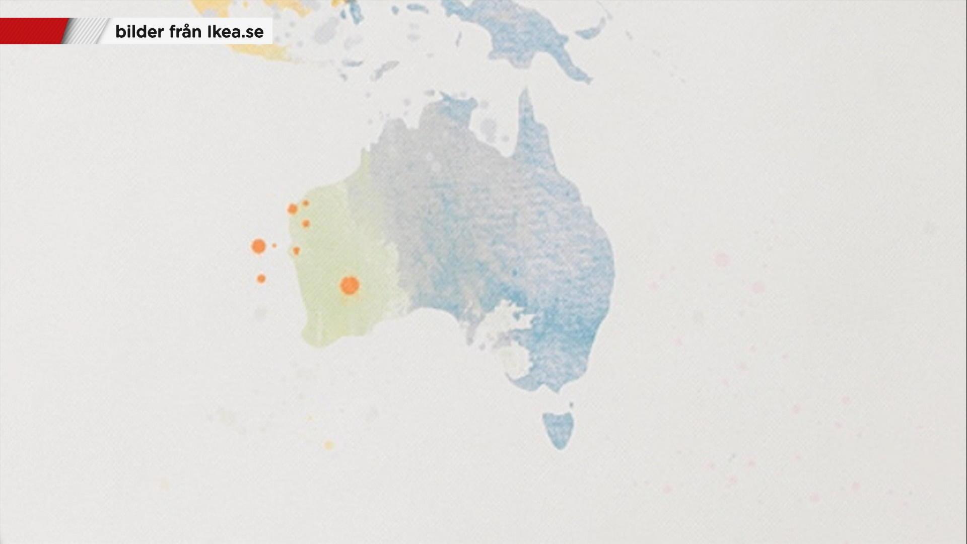 Nya Zeeland Utraderat Fran Ikea Karta Nyheterna Tv4 Se
