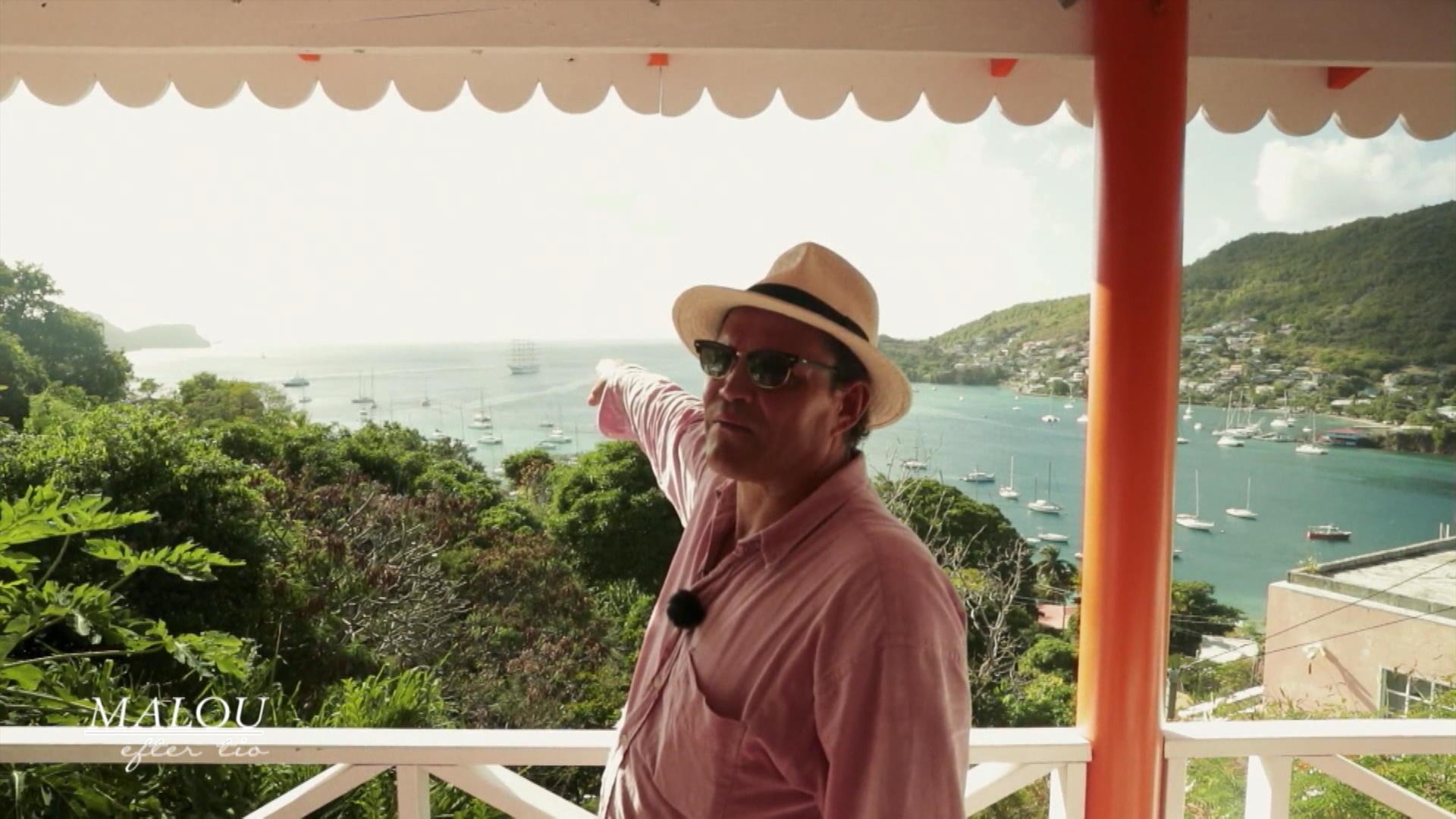 """Per Morberg gör ny matlagningsserie från Karibien: """"Min bebis hela vägen"""""""