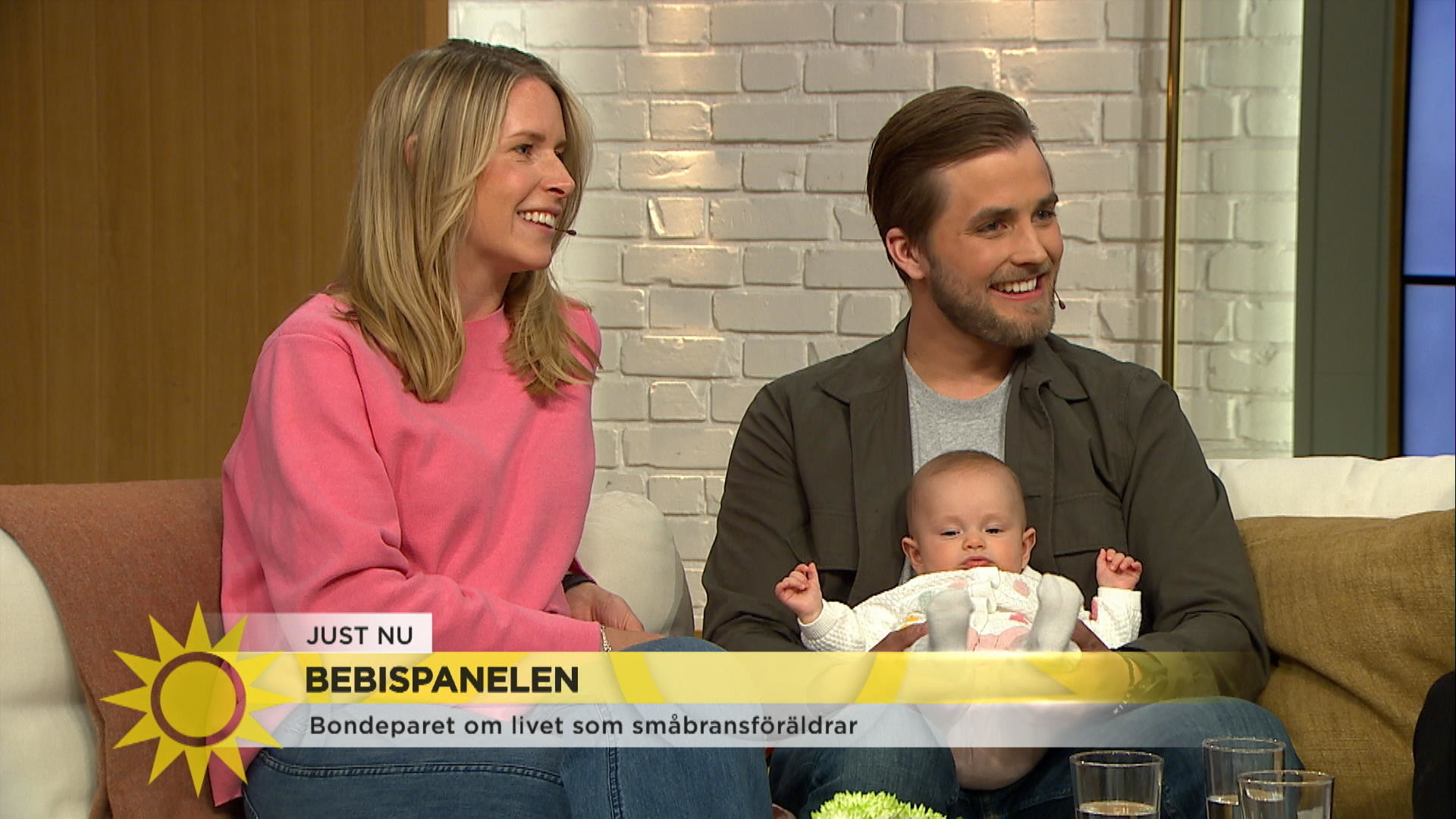 Bondeparets Lilla Wilda Debuterar I Bebispanelen