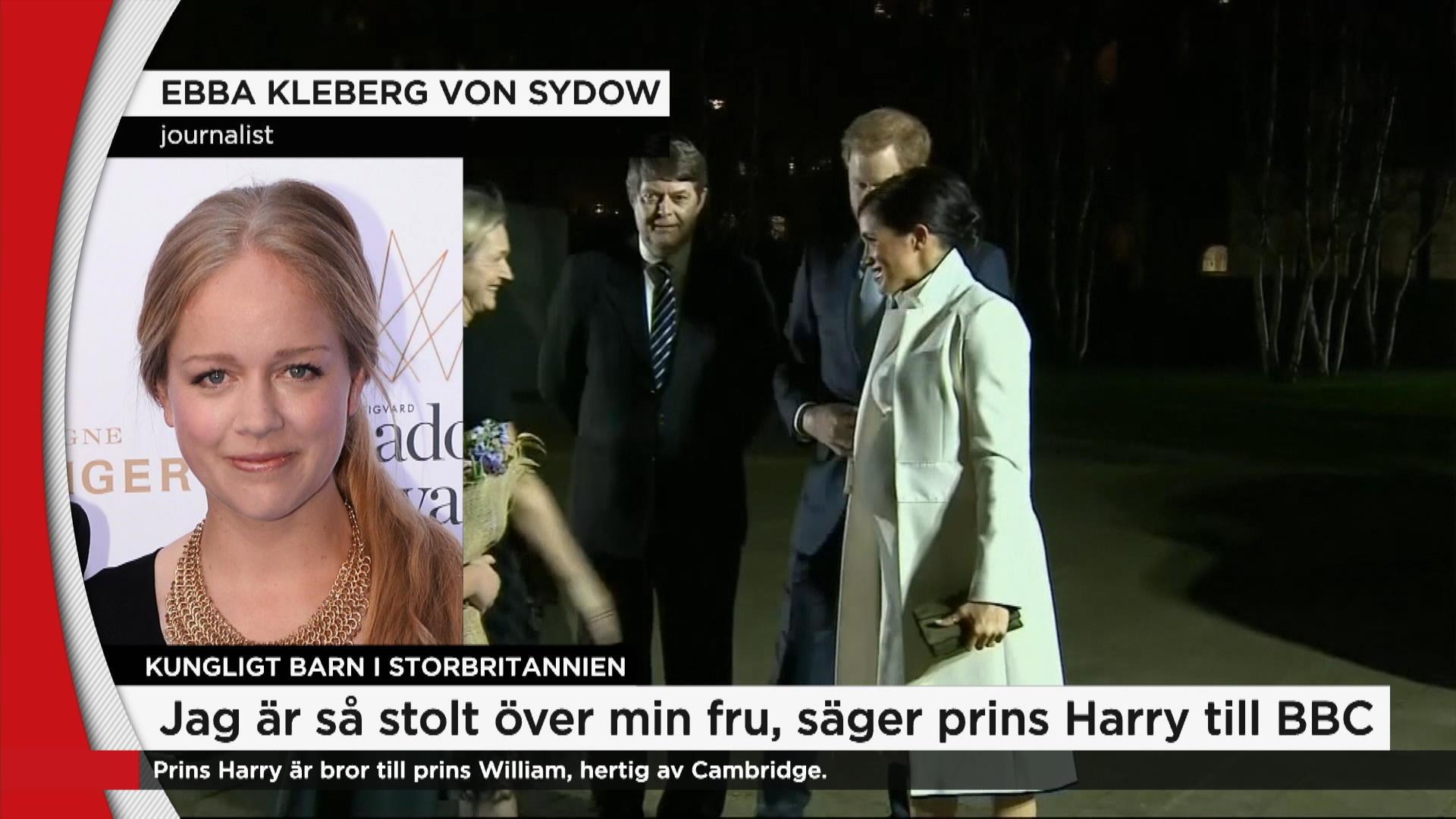08f81e24afef Ebba Von Sydow efter besked om kungligt bebis: Ӏntligen! Jag har inte  kunnat