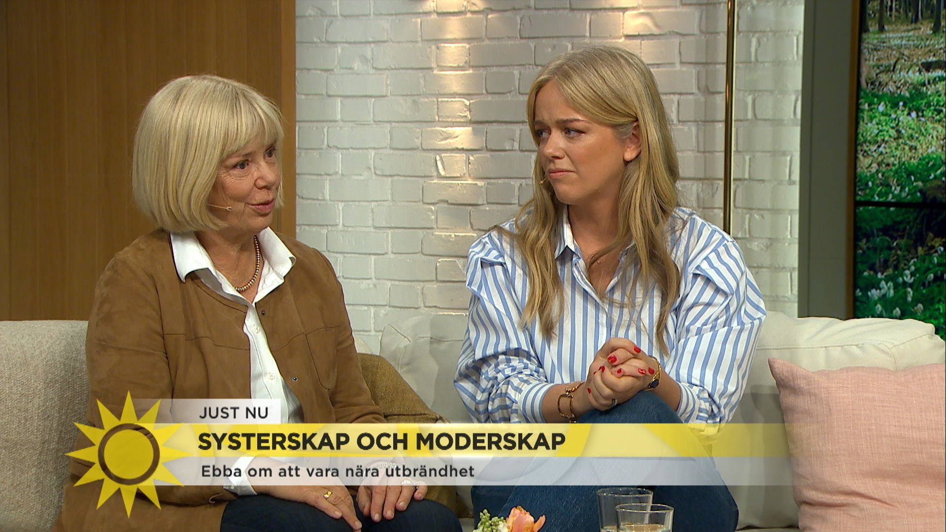"""549216f0d0dd Ebba von Sydow var nära utbrändhet: """"Det tog bara stopp"""" - Nyhetsmorgon -"""
