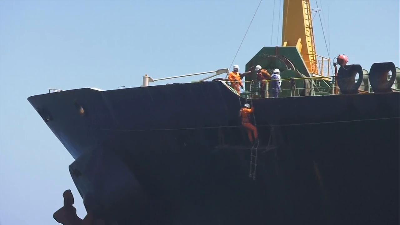 Iranska Oljetankern är Släppt
