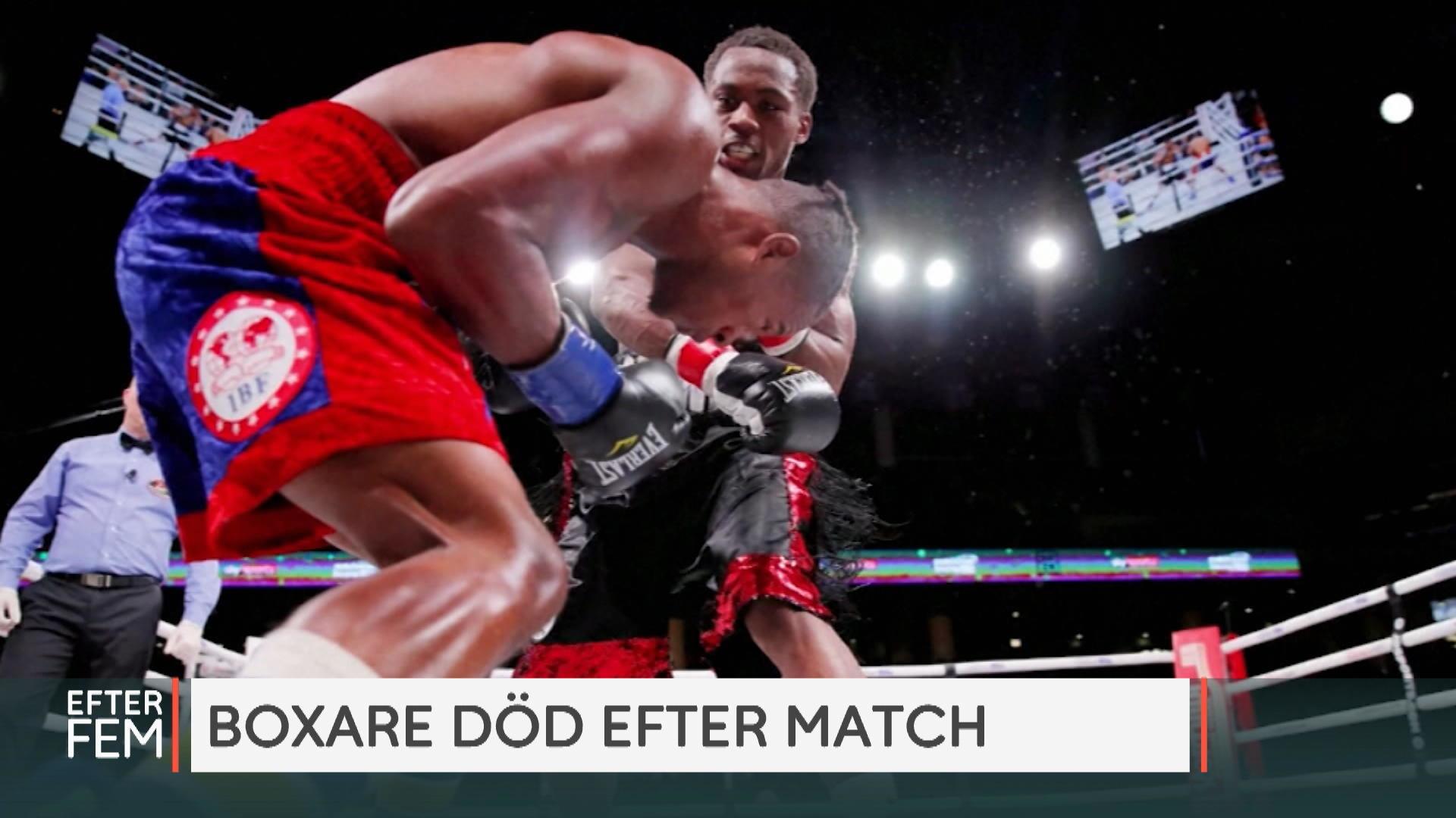 Boxning match gör