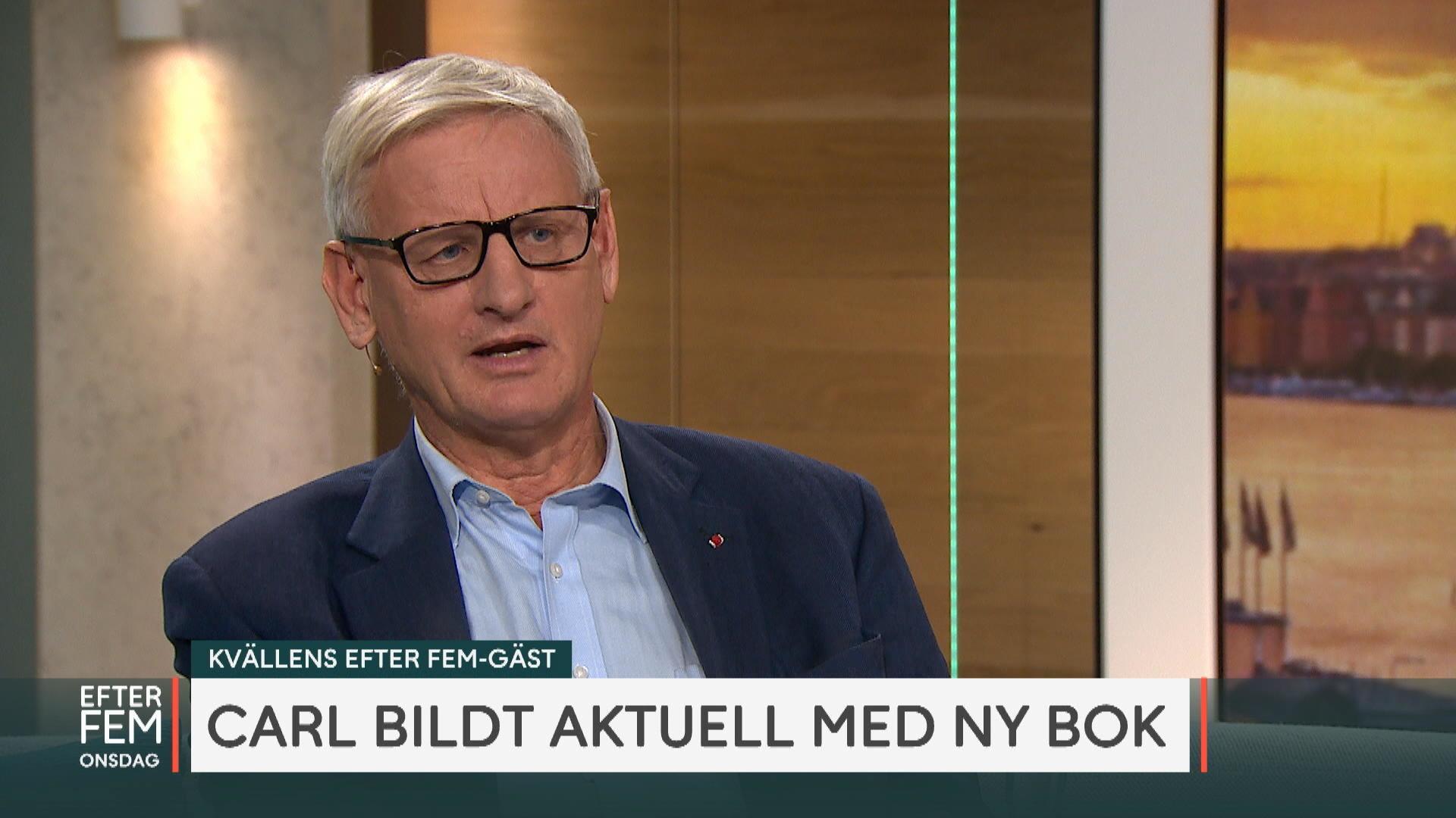 """Carl Bildt om oron över vår samtid: """"Brutalisering av offentliga samtalet  är väldigt illa"""" - tv4.se"""