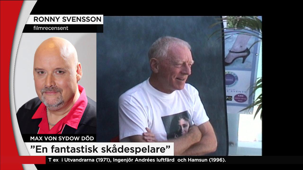 Tv4 S Filmexpert Ronny Svensson Alla Ville Jobba Med Max Nyheterna Tv4 Se