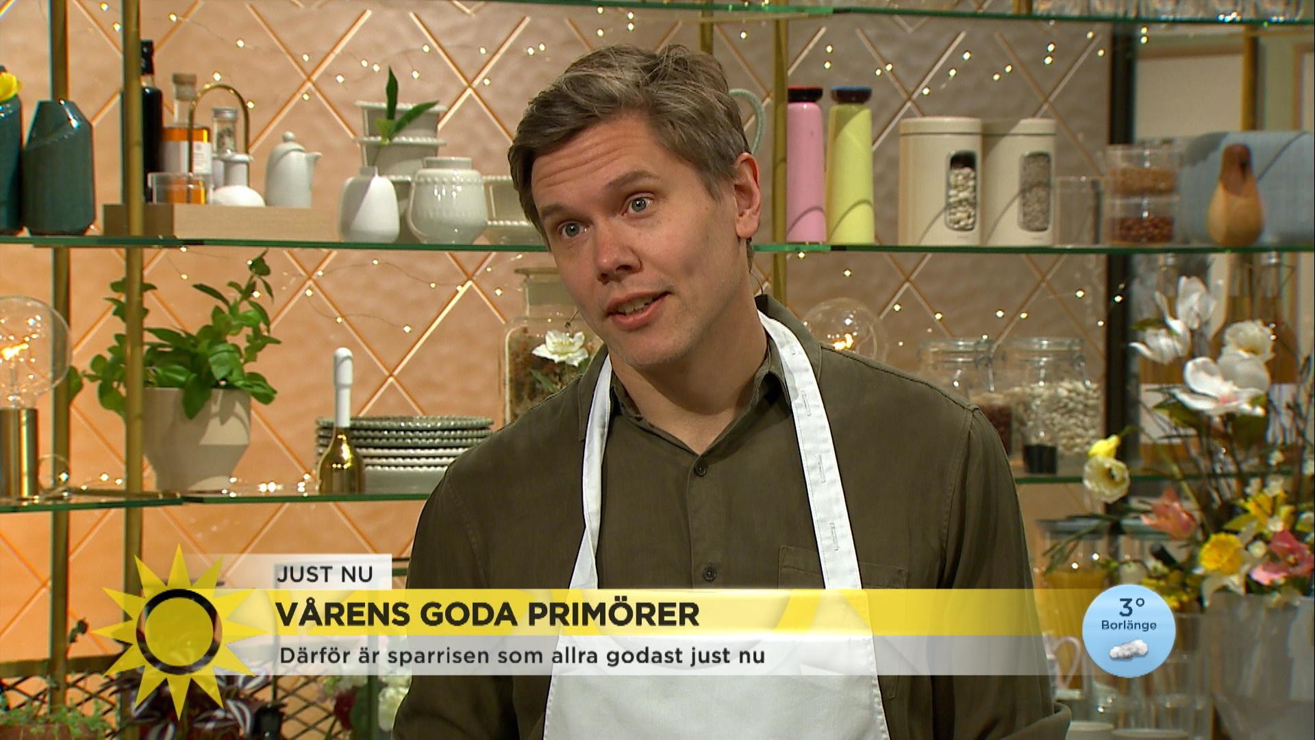 Tommy Myllymäki om att sandpappra sparrisen och njuta av säsongens mat