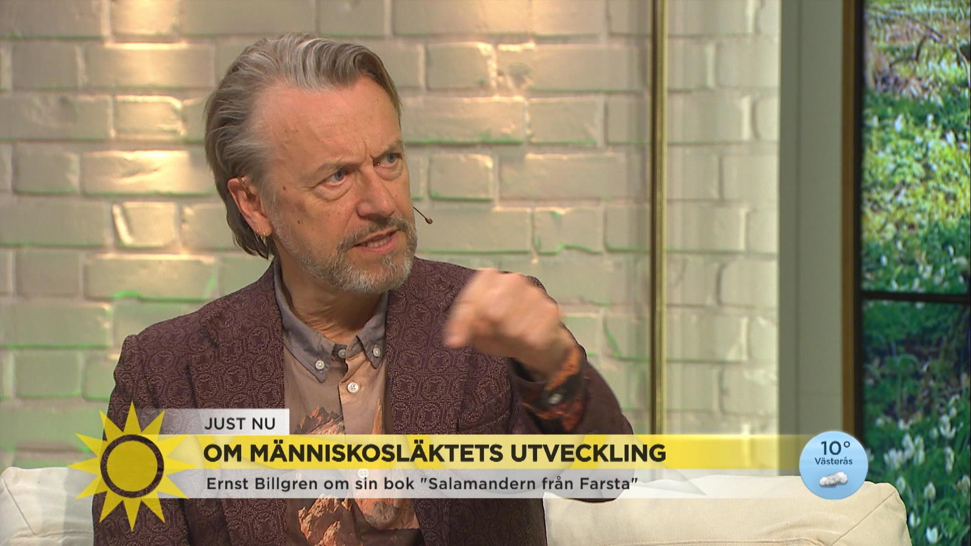 """Ernst Billgren om sin nya bok: """"Du är den enda som läst den, Jenny"""""""