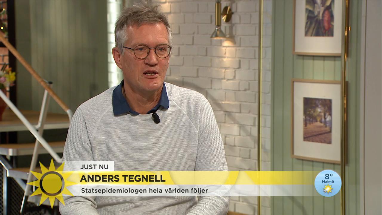 Anders Tegnell Testerna Ger Bara En Ogonblicksbild Nyhetsmorgon Tv4 Se