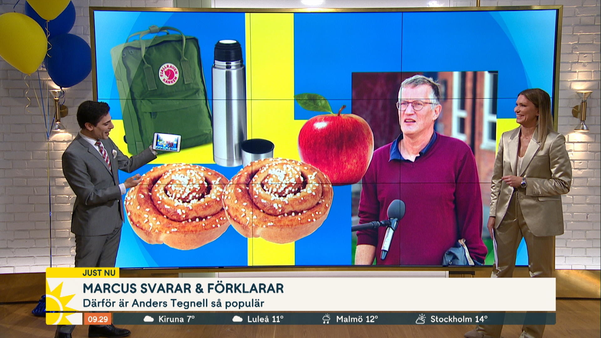 Marcus Darfor Vill Tittarna Se Tegnell Som President Nyhetsmorgon Tv4 Se