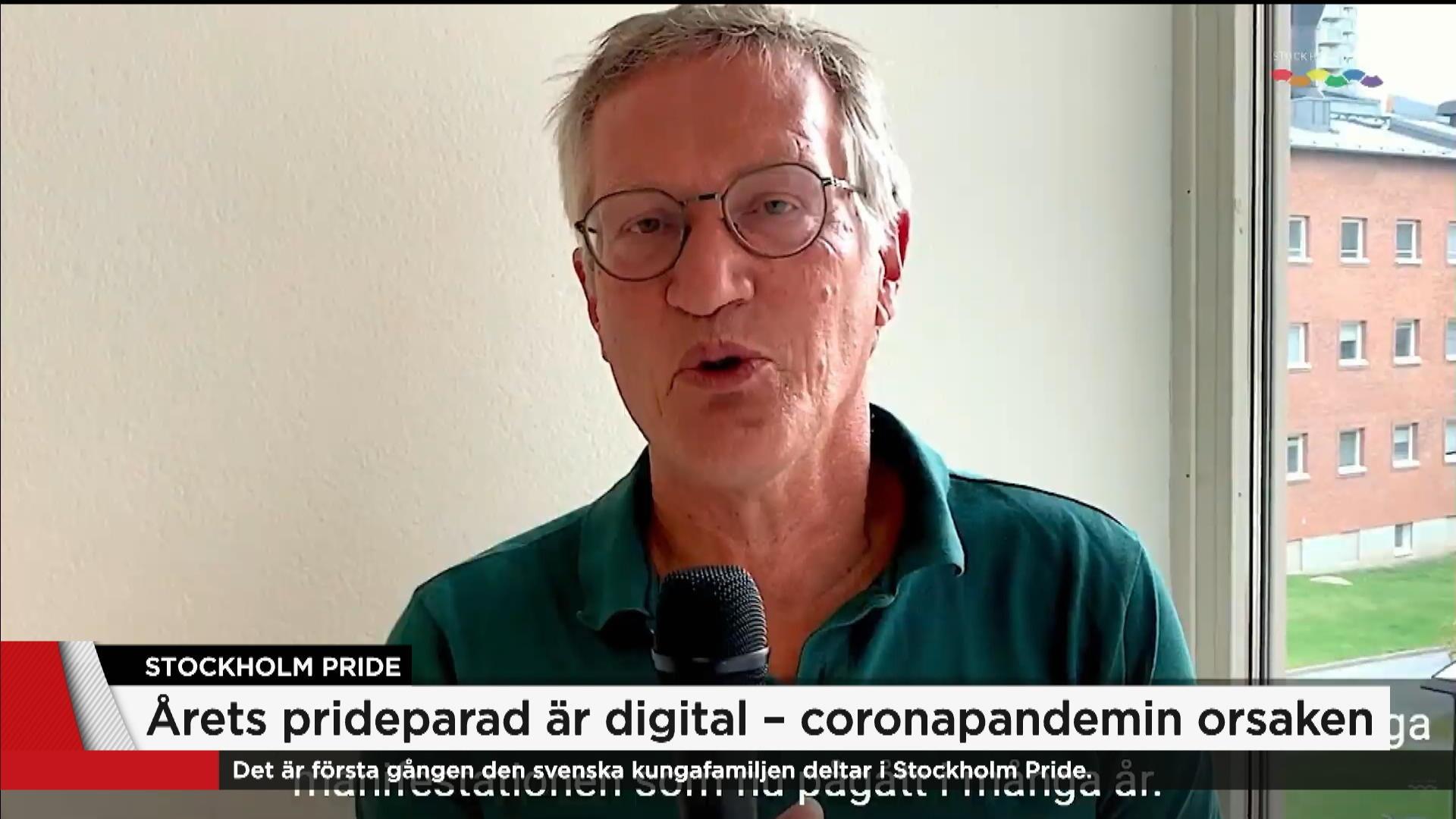 Tegnells Pridehalsning Uppmanar Att Fira Pa Ett Coronasakert Satt Nyheterna Tv4 Se