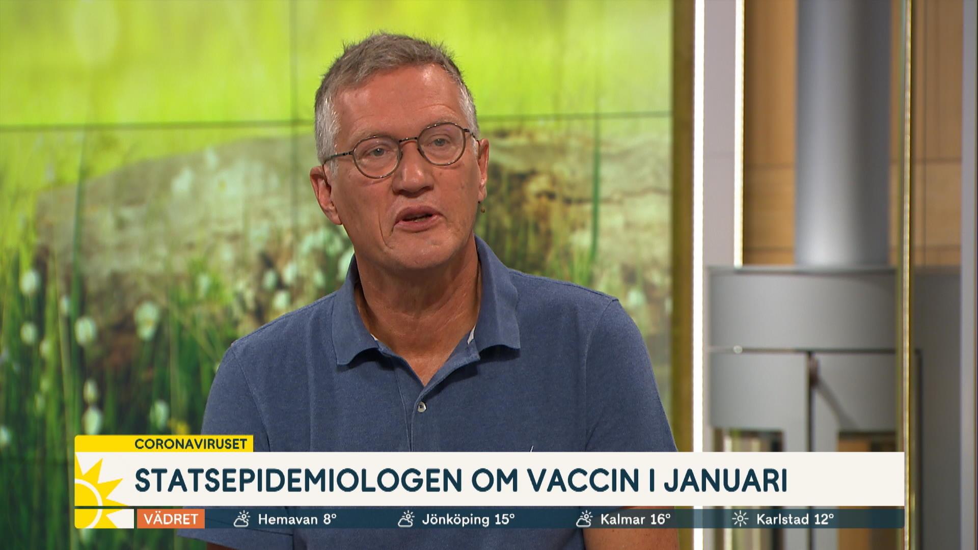 Anders Tegnell Tror Inte Det Blir En Klassisk Andra Vag Nyhetsmorgon Tv4 Se