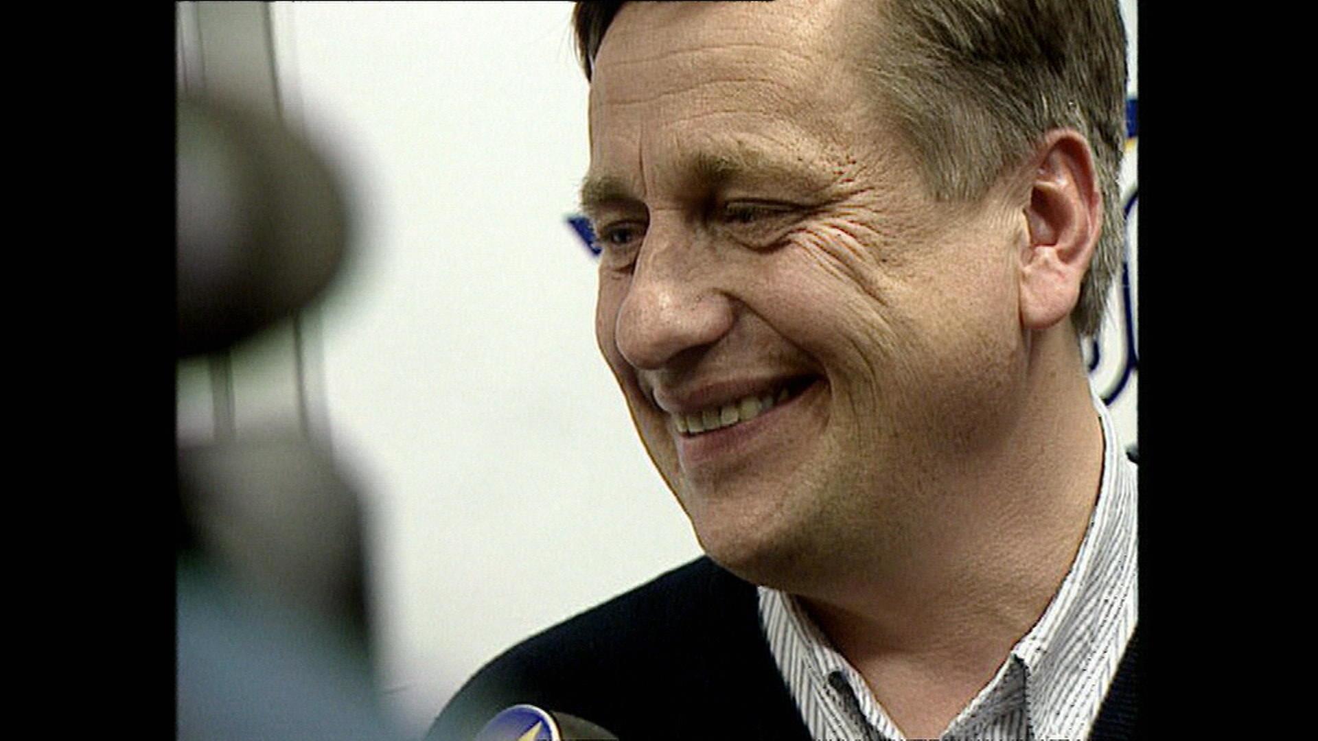 När Tommy Söderberg utsågs till förbundskapten.