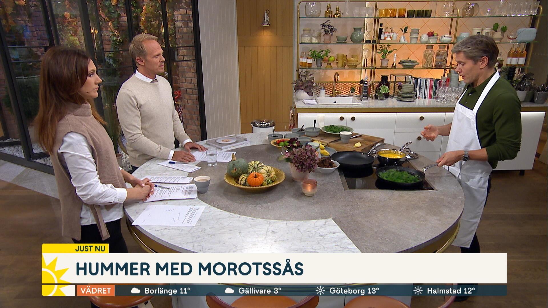 Tommy Myllymäki fixar menyn –  viltköttbullar med grönkål